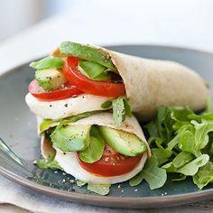 Avocado Caprese Wrap (1) From: Foodvee, please visit