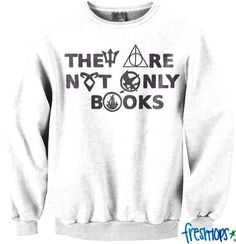 They are not only books crewneck - Fresh-tops.com I NEED THIS