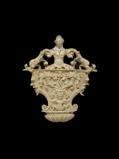 Ivory fan handle     Place of origin:    France (possibly, made)  Date:    17th century (made)