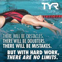 Habrá obstáculos.  Habrá escépticos.  Habrá errores.  Pero con trabajo duro, no hay límites.