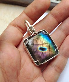 Hey, I found this really awesome Etsy listing at https://www.etsy.com/listing/232783878/labradorite-pendant-wire-wrapped-pendant