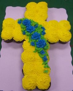 I may do something similar for Jacob's 1st Communion in May.