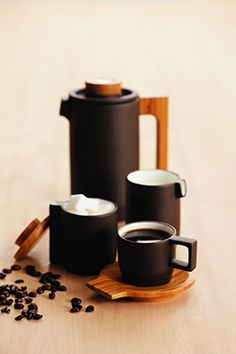 Amazon.com | JIA Inc - Purple Clay Coffee Set