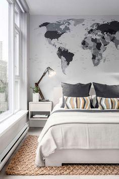 Precioso dormitorio moderno