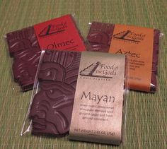 3 pack of Artisan Chocolate Bars | andRuby