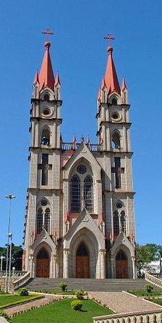 Igreja Católica de Itaguaçu - Matriz - Brasil