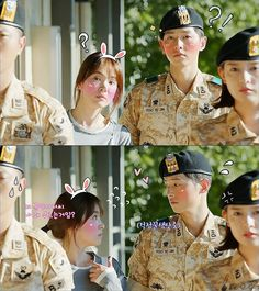descendants of the sun Korean Drama Best, Korean Drama Funny, Korean Drama Quotes, Korean Drama Movies, Korean Dramas, Korean Celebrity Couples, Korean Celebrities, Song Hye Kyo, Song Joong Ki