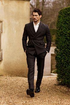 "homme–models: ""David Gandy for GQ Japan // ph. by Arnaldo Anaya Lucca "" David Gandy Style, David James Gandy, David Gandy Suit, Gq, Fashion Moda, Look Fashion, Mens Fashion, Fashion Styles, Gentleman Mode"