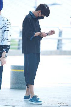 [AIRPORT] 150604: BTS V (Kim Taehyung) at Incheon Airport #bangtan #bangtanboys…