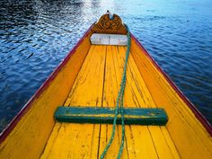.Kashmir,boat,India,colour .#By Devika Narain