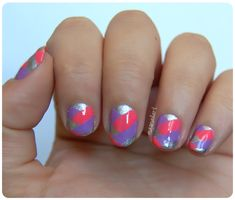 Más nail art.: NOTD: Uñas con trenzas o braided fishtail nails.