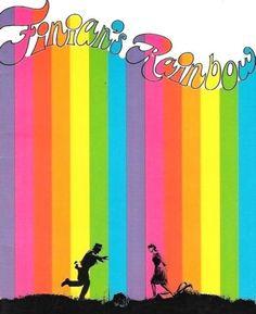 Finians' Rainbow program Finian's Rainbow, Over The Rainbow, Rainbow Colors, Rainbow Stuff, Tommy Steele, True Colors, Colours, Petula Clark, Unicorn Illustration