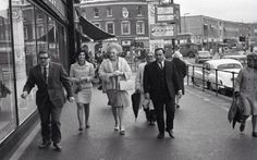 Barbara Cartland in Lewisham South East London England in the 1960's