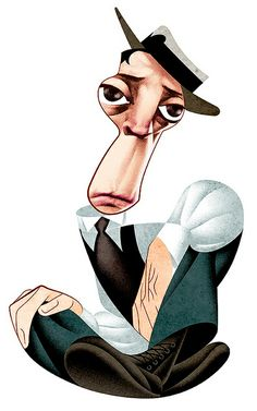 Buster Keaton by Andre Carrilho | Flickr - Photo Sharing!