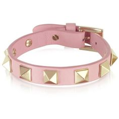Valentino Garavani Rockstud Leather Bracelet-I wish this was a dog collar! Would be cute for my pup!