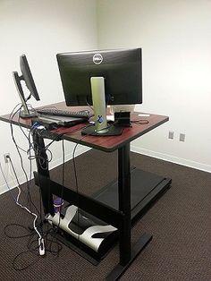 Stand Up Desk, Adjustable Height Desk, Storage, Furniture, Home Decor, Purse Storage, Decoration Home, Room Decor, Larger