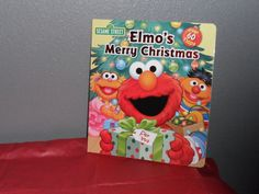 Elmo's Merry Christmas (2011, Board Book) Flap Book