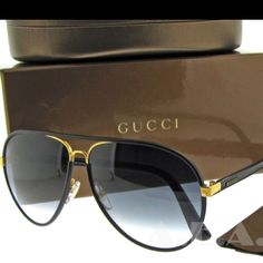 Gucci 2887 leather aviators- classic must have. A staple well worth the investment. Top Sunglasses, Stylish Sunglasses, Luxury Glasses, Eyeglass Frames For Men, Simple Watches, Fashion Eye Glasses, Mens Fashion Suits, Beautiful Celebrities, Men Accessories