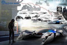 Volkswagen Design Contest   NUCLEAR WARP
