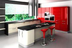 Construindo Minha Casa Clean: Cozinha Planejada Pequena: Vantagens e Modelos!