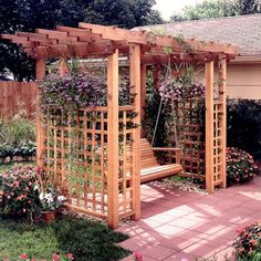 Buy Woodworking Project Paper Plan to Build Garden Arbor Getaway at Woodcraft.com