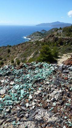 Minierea di Calamita su http://www.aisoladelba.it