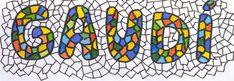Antoni Gaudí, un geni del segle XX Name Design Art, Name Art Projects, Art History Timeline, Antonio Gaudi, Aluminum Foil Art, Hand Lettering Alphabet, Ecole Art, Art Plastique, Art Activities