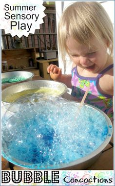 Bubble Play and Concoctions ~ Growing A Jeweled Rose