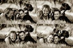 engagement pictures with dogs - Google Search