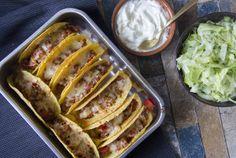 Gevulde Taco's met Goudse Kaas