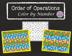 order of operations color worksheet 2 order of operations worksheets and numbers. Black Bedroom Furniture Sets. Home Design Ideas