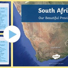 This is a PowerPoint presentation that covers some of the grade 4 and 6 Geography CAPS work. Teaching Math, Maths, Math Groups, Geography, South Africa, Om, High School, Presentation, Beautiful