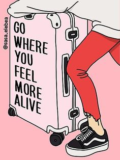 go where you feel more alive travel inspo inspirational quote Cute Quotes, Words Quotes, Sayings, Advice Quotes, Girl Quotes, The Words, Positive Quotes, Motivational Quotes, Inspirational Quotes