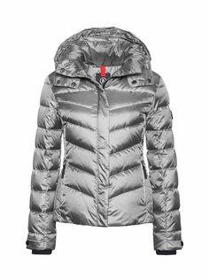 DOWN SKI JACKET SALLY in Silver for Women | BOGNER USA
