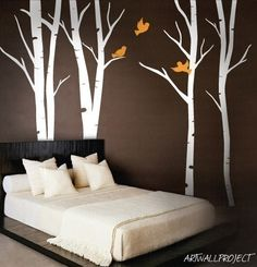 Wall Art Vinyl Decal Sticker Home Style - Terrific Forest 101. $78.00, via Etsy.