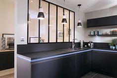 Cuisines Design, Sweet Home, Loft, Bar, Contemporary, Architecture, Table, House, Inspiration