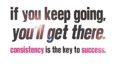 Consistency is key via @fitcheerldr
