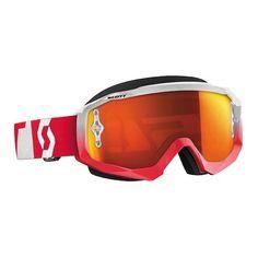 Scott HUSTLE OXIDE Goggle (RED/WHT)