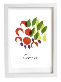 Awesome for the kitchen!!!  Italian Food Prints Uncovet   Repin, like, share and follow me! :)