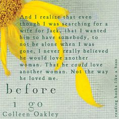 Before I Go by Colleen Oakley #BeforeIGo #Gallery #BookReview #ColleenOakley