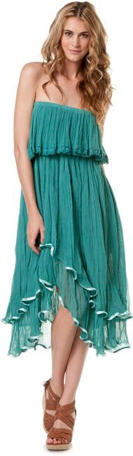 JEN'S PIRATE BOOTY GODDESS GAUZE DRESS > Womens > Clothing > MAXI Dresses | Swell.com