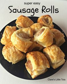 Super easy sausage rolls recipe, great recipe for cooking with kids in the kitchen. Delicious homemade sausage rolls make a lovely alternative to sandwiches for picnics or lunch boxes.
