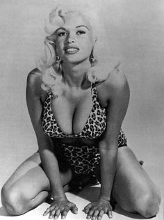 Jayne Mansfield is not only one of the most beautiful women of the '50s, '60s, and '70s, but she would put up a good argument for one of the most beautiful women of all time. Her gorgeous smile, sparkling eyes and flowing blonde hair helped her become the dream girl of every man that came across her path. It also helped that she was the first woman of Hollywood to perform a nude scene on screen. Unfortunately, a horrific car accident took her life when she was just 34 years young.