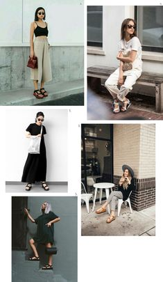 playing dress up: How to style Teva sandals? - polienne Laminate Flooring: The Basics Article Body: Sandals Outfit Summer, Dress Sandals, Heeled Sandals, Teva Flatform, Casual Outfits, Summer Outfits, Chunky Sandals, Big Fashion, Fashion Styles