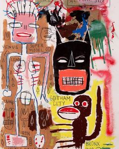 JEAN MICHEL BASQUIAT | batman