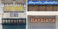 Lettering from Torino (Italy)
