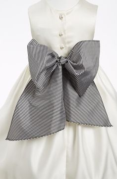 Us Angels Gingham Sash (Girls) available at #Nordstrom