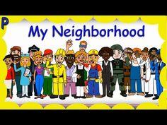 My Neighborhood   Community Helpers   Learn Jobs   Occupations   Children's song   Patty Shukla - YouTube