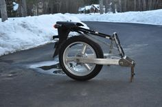 Building a single wheel trailer - Stromtrooper Forum : Suzuki V-Strom Motorcycle Forums