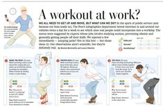 Try these 12 workout moves right at your desk!